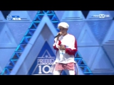 [PERF.] 170414 Cho Gyu Min (IMX Ent.) – EP.2 Produce 101 @ Mnet Official