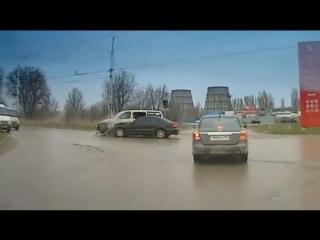 Съемочная группа телеканала ТНТ Волгодонск попала в ДТП