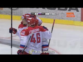 Словакия 0:4 Россия. Аверин. 48 минута