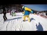 47cm INLINE SKI Aggressive Skates shortski skiboard