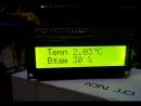 Arduino Pro Mini LCD1602 Si7021 10 метров витой пары.