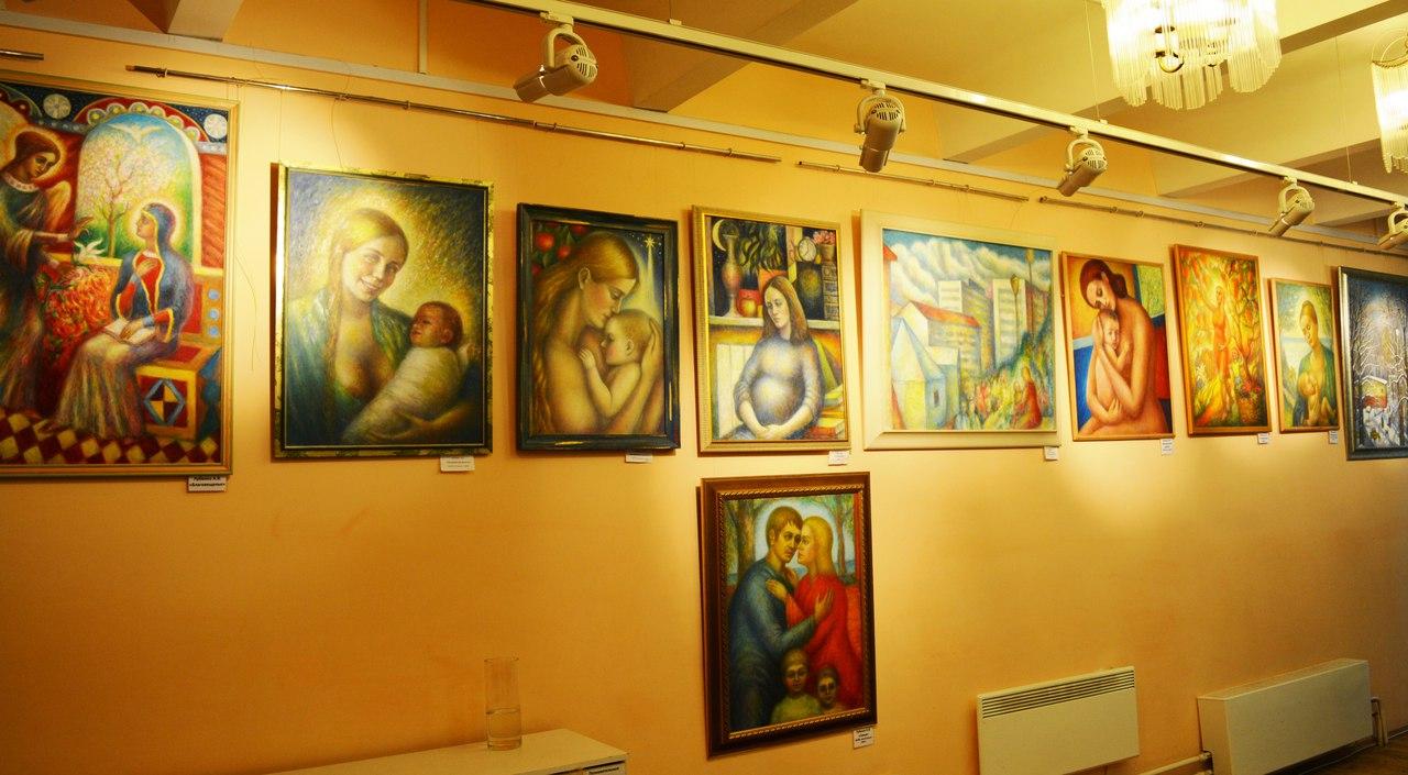 выставка А.В.Лубенко