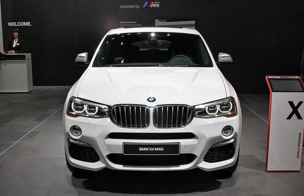 BMW выкатила в Детройте X4 M40i