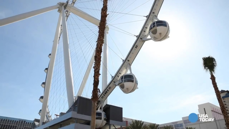 Колесо обозрения Хай Роллер в Лас-Вегасе, 167 метров (High Roller Las Vegas)