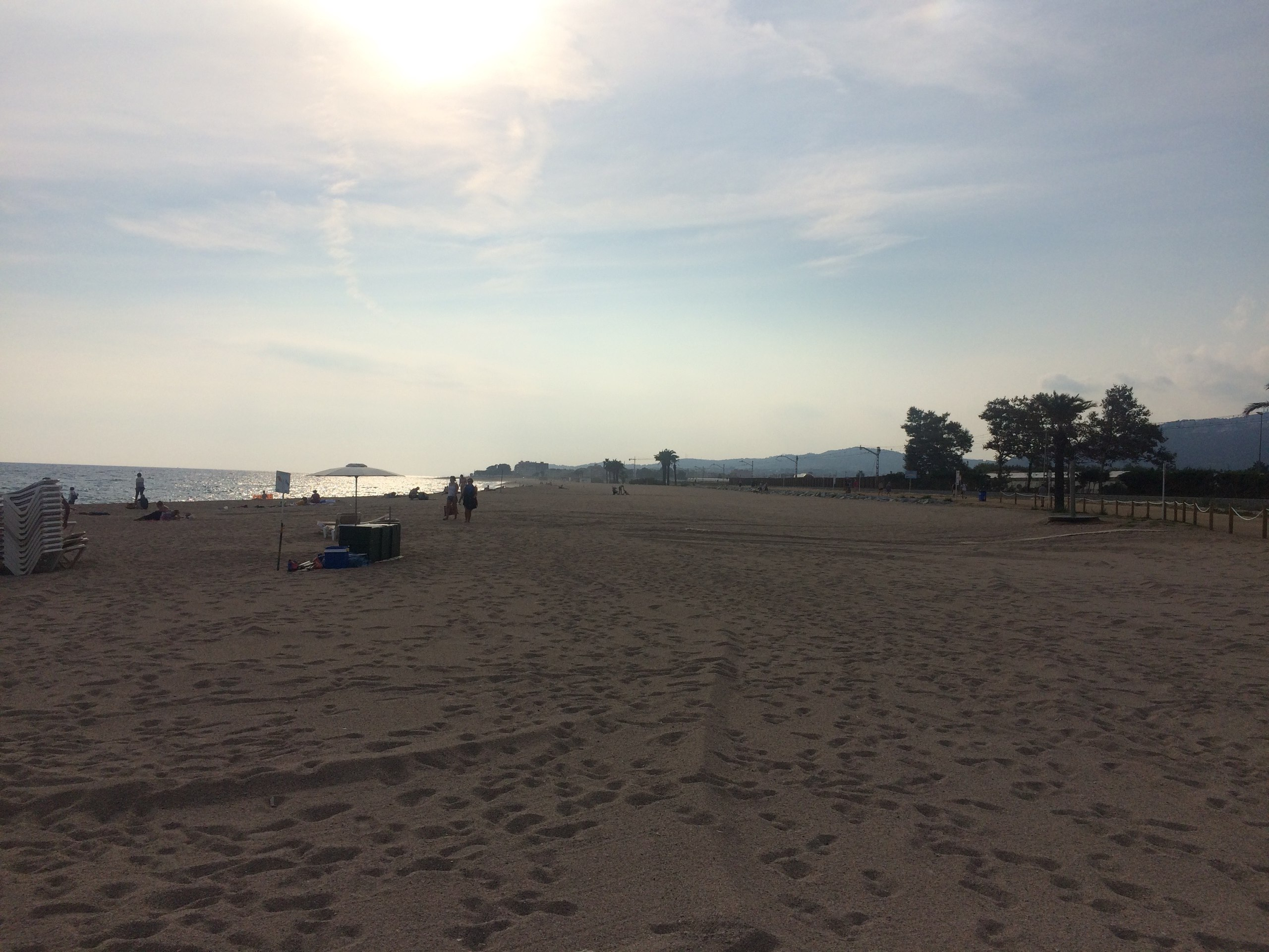 пляж Санта-Сусанна