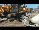 IHC FUNDEX F3500 making soil displacement piles