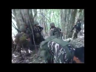 Филиппинские силы вступают в прямой огневой контакт с ИФОМ (Исламским фронтом освобождения Моро)