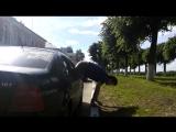 Видео урок 2. Легкий и непринужденный выход из машины в условиях сурового города.