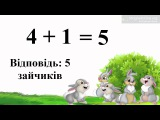 Урок 51. Математика 1 клас. Складання та роз'язування задач за малюнками.