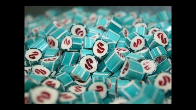 Как делают конфеты из карамели. Производство конфет
