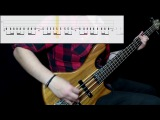 A Perfect Circle - Judith (Bass Cover) (Play Along Tabs In Video)
