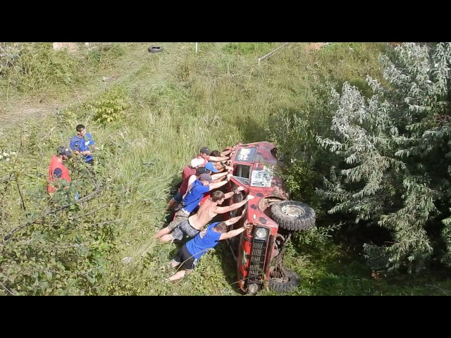 Джип-триал 1 этап Тамбов 2016 борт 31 Заезд 1 УШИ