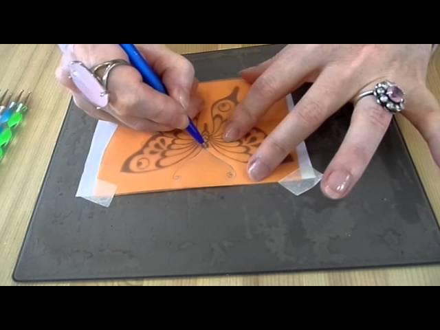 Бумажное кружево пергамано