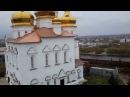 Колокольный звон в Свято - Троицком мужском монастыре города Тюмени