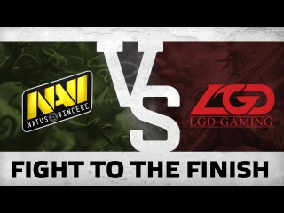 WATCH FIRST: Fight to the Finish by Na`Vi vs LGD @ The International 6