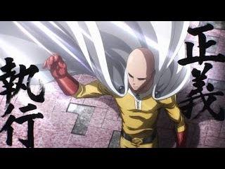 Ванпанчмен самые мощные удары!(лучшие моменты)Saitama vs Boros /ч.1