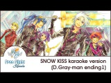 [Free Flight RUSSIAN KARAOKE] SNOW KISS TV-size off vocal (D.Gray-man ED1)