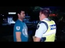 Im just waiting for a mate - FUNNY POLICE ARREST