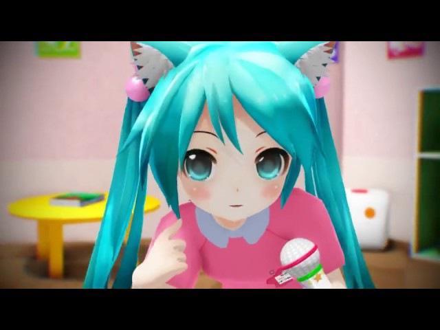 Loli Miku Sings World is Mine