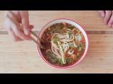 Как делать китайскую вытяжную лапшу