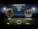 FIFA 17  AMITY - FALLEN ANGELS  PRO CLUB  RLPC  14th Season  1st Division  25 Matchday
