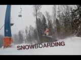 Сноубординг в ГК Степаново на Go Pro 4 под Boy Epic - People Are Awesome