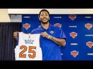 Derrick Rose - Full Introductory Press Conference - New York Knicks | June 24, 2016 | NBA Offseason #NBANews #NBA