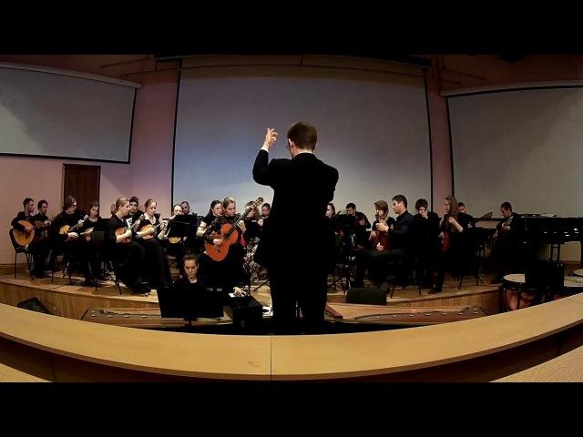 А.Вивальди - Концерт D-dur для гитары с оркестром (18.04.2017)