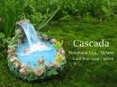 Cascada en Porcelana Fria Resina Cold Porcelain Resin