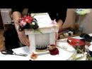 Бесплатный мастер класс Новогодний Камин с пуансеттиями Свит дизайн