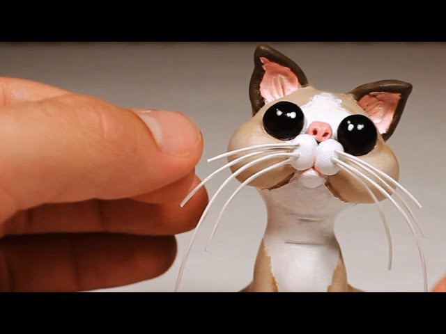 Kitty Cat. Sculpting Process