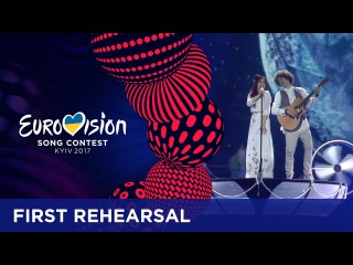 Naviband - Story Of My Life (Belarus) First rehearsal in Kyiv