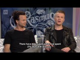 The Rasmus - Lauri and Aki interviewed on YLE Aamu-TV, March 2017