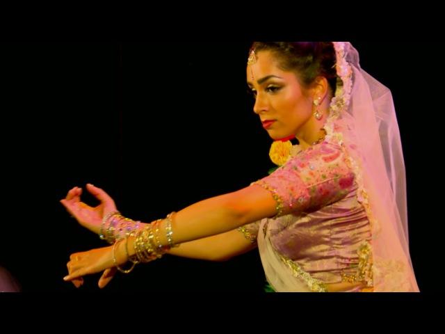 Om Jayanti Mangala Kali | Kathak dance | Svetlana Tulasi - with subtitles