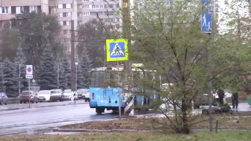Троллейбусы ЗИУ г Тольятти