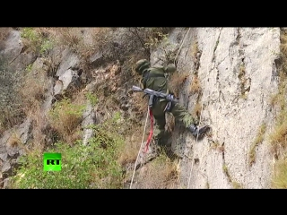 Российские и пакистанские военные провели первую совместную тренировку по горной подготовке