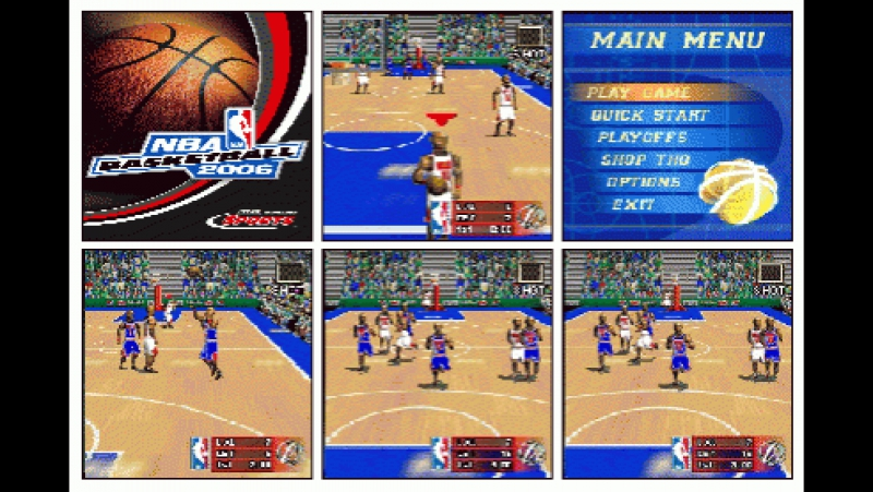 NBA Basketball 2006 - THQ Wireless