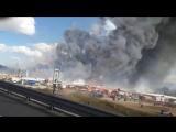 Взрыв на рынке фейерверков в Мексике