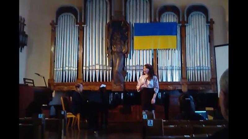 Малюк Ірина Ой три шляхи широкії слова Т. Шевченка, музика Я. Степового