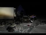 В Саратовской области в столкновении грузовика с минивэном погибли семь человек