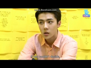 [EXOMENTARY LIVE] 160622 Sehun @ EP10.2 Sehun is a careful boy!