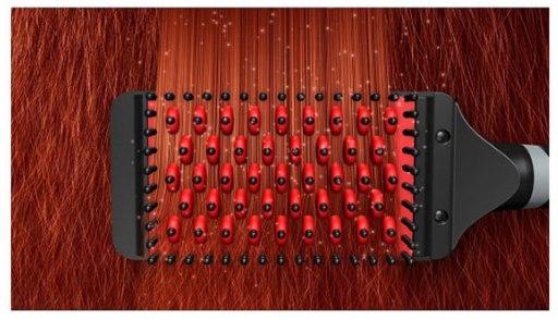 Электрическая керамическая расчёска выпрямитель Hollywood Straightener