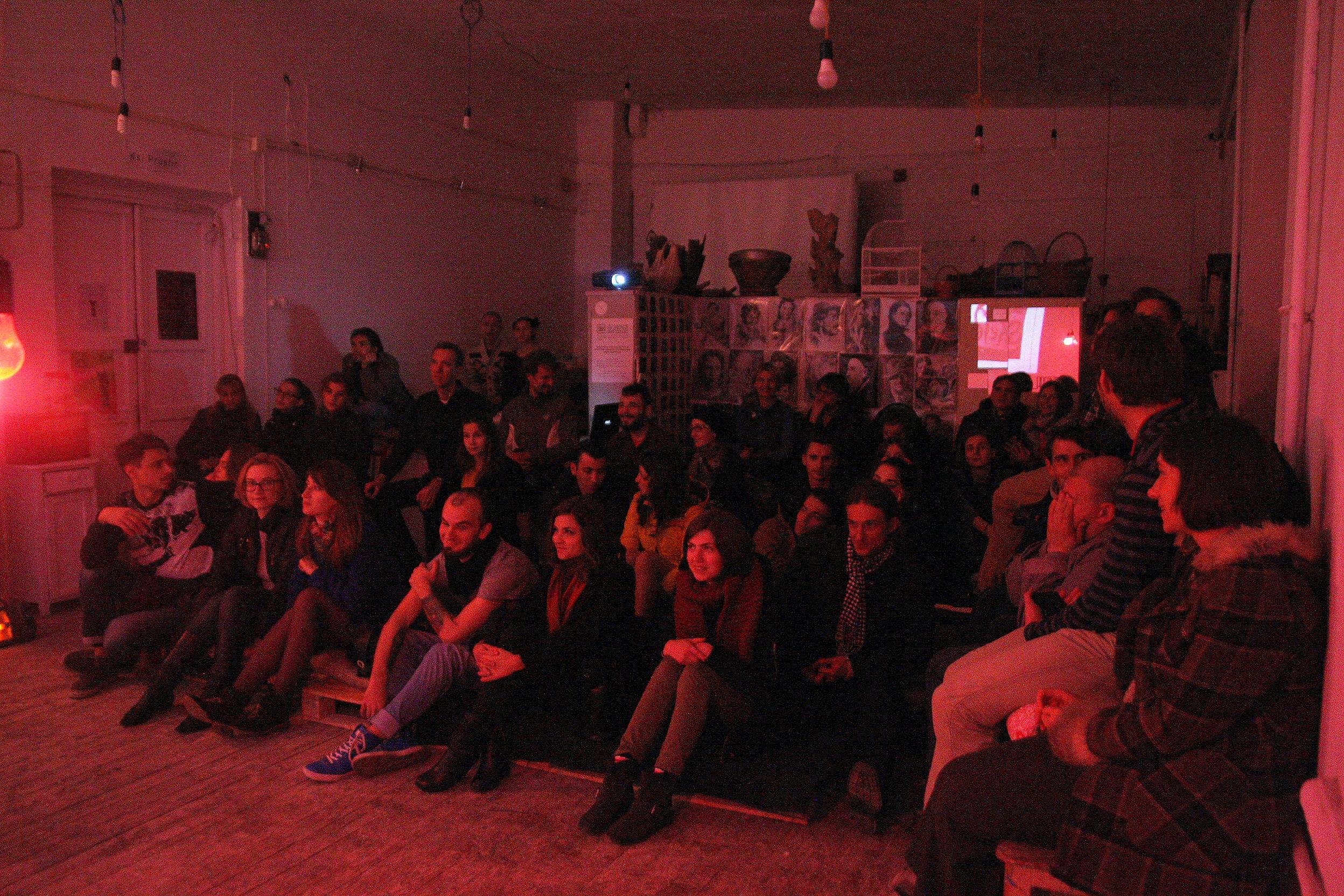 Зрители ивента в Ksi Prostir