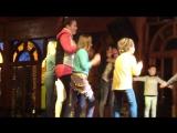 Настя на мини диско в Египте