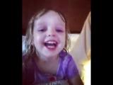 Christina Aguilera Instagram with Matt Rutler and Submersa Rain in a cuteness show