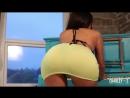 Мощная сексуальная задница под короткой юбкой. Charlotte Springer(Charley S)