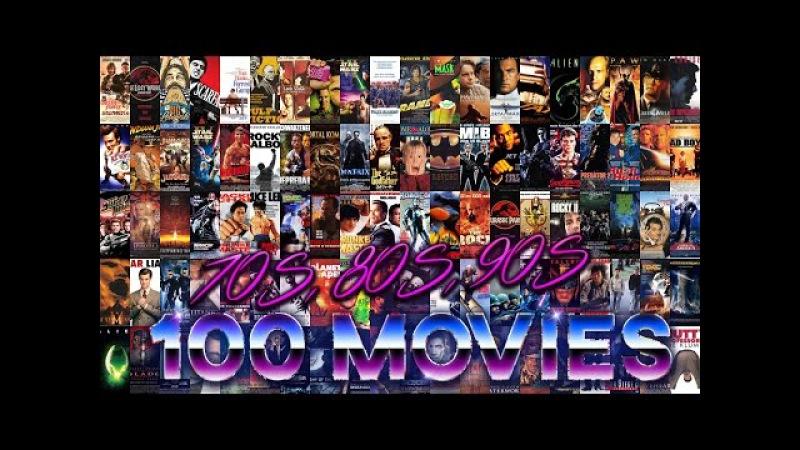 70s, 80s, 90s - 100 Movies Mashup