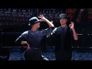 Танцы. Битва сезонов: Митя Стаев и Егор Дружинин (Nina Simone - Mr. Bojangles) (серия 8)