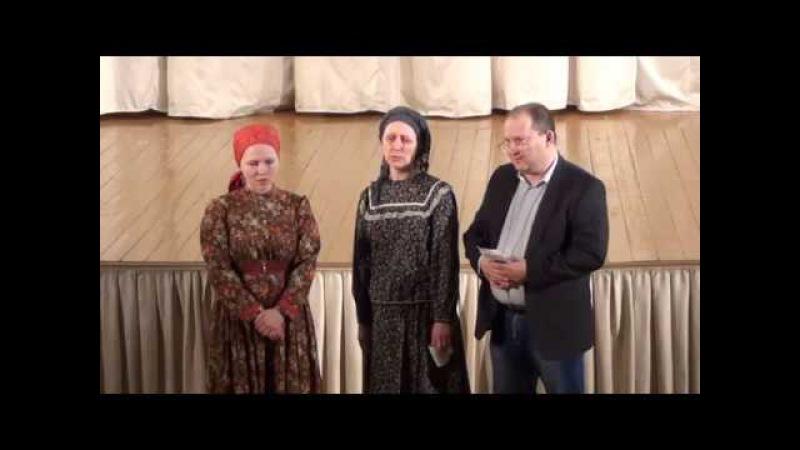 Чебагай Стих о смерти грешника с Бичура реконструкция