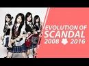 EVOLUTION OF SCANDAL (2008-2016)